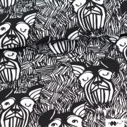 Schnauzrar svart/vit
