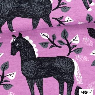 Poem, hästar - Poem hästar lila