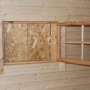 Extra öppningsbart fönster