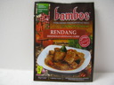 Bamboe Rendang Kryddor