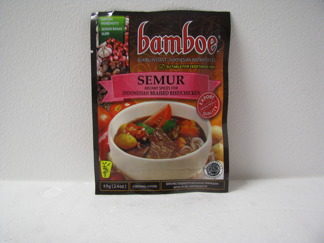 Bamboe Semur Kryddor -