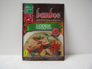 Bamboe Lodeh -