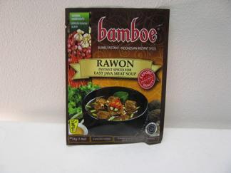 Bamboe Rawon -
