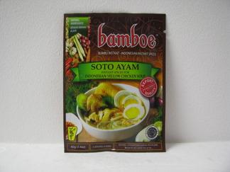 Bamboe Soto Ayam Kryddor -