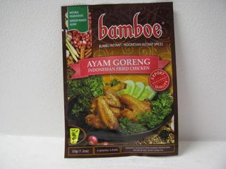 Bamboe  AYAM Goreng -