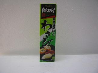 S&B Wasabipasta i Rör - S&B wasabi in tube