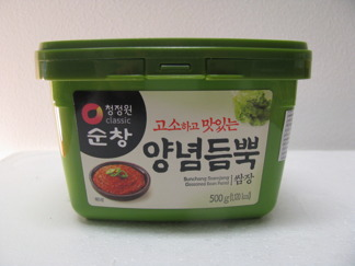 SUNCHANG SSAMJANG (SEASONED BEAN PASTE) -