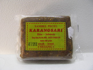 Sambel Pecel Karangsari Sedang Krydda -