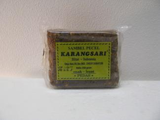 Karangsari, sambel pecel -