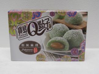 Mochi pandan cocos -