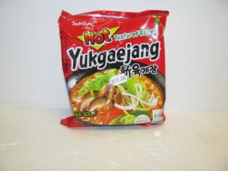 Samyang Ramen Yukgaejang -