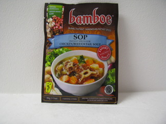 Bamboe Sop Kryddor -