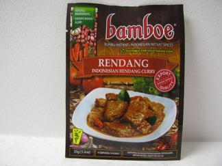 Bamboe Rendang Kryddor -