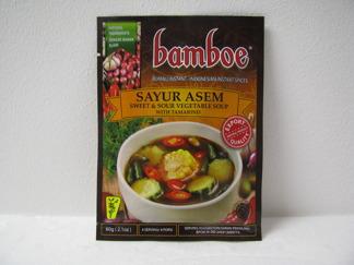 Bamboe Sayur asem -