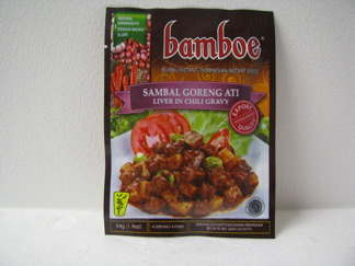 Bamboe Sambal Goreng Ati Kryddor -