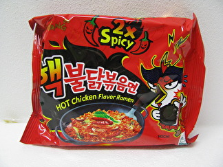 Samyang Ramen Hot Chicken 2x Spicy - Samyang 2 x spicy