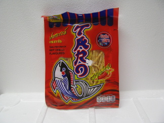 TARO  FISK SNACK HOT CHILI -