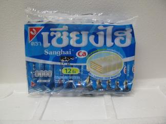 Sanghai Mjölk Fyllda Kex -