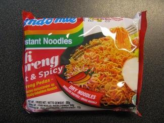 Indomie , Mi Goreng Spicy -
