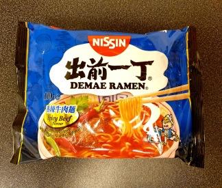 Demae Ramen Spicy Beef