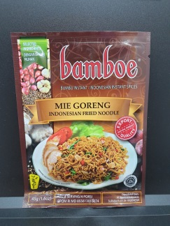 Bamboe Mie Goreng Kryddor