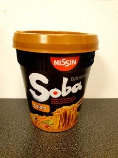 Nissin Soba Koppnudlar Curry Smak