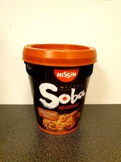Nissin Soba Koppnudlar Sukiyaki Smak