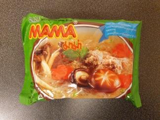 Mama Glasnudlar Med Klar Soppa