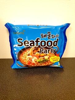 Samyang Ramen Seafood Party