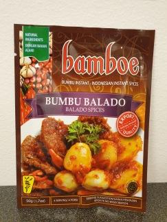 Bamboe Bumbu Balado Kryddor