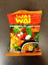 Wai Wai Snabbnudlar Orientalisk Stil Smak