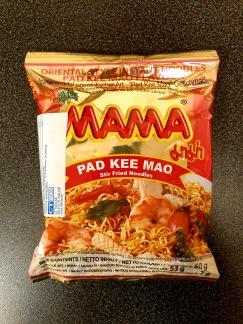 Mama Snabbnudlar Pad Kee Mao Smak