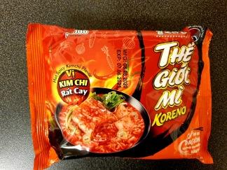 Paldo Snabbnudlar Kryddig Kimchi Smak