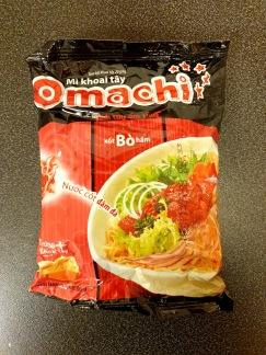 Omachi Snabbnudlar Biff Smak