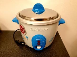 Sharp Riskokare 0.6L Ljusblå