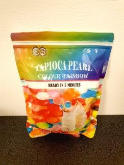 Färgade Tapioka Pärlor