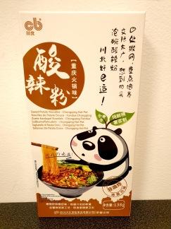 CB Sötpotatis Nudlar Chongqing Hot Pot Smak
