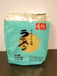 Sautao Japanska Ramen Nudlar