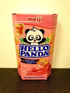 Meiji Hello Panda Kex Jordgubb
