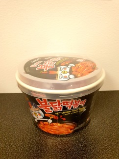 Samyang Koppnudlar Hot Chicken Toppoki