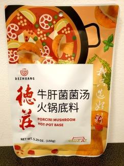 Dezhuang Porcini Svamp Hot Pot Bas