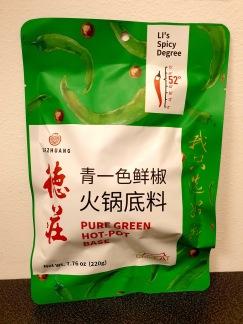 Dezhuang Grön Hot Pot Bas