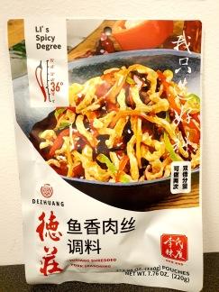 Dezhuang Yuxiang Strimlad Fläskkött Kryddblandning