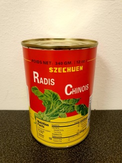 White Rabbit Brand Konserverad Kinesisk Rädisa
