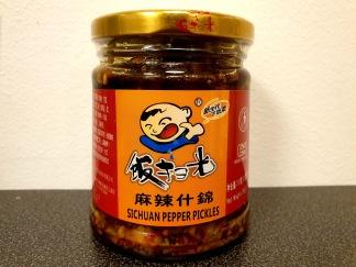 Fangsaoguang Picklade Sichuanpeppar och Grönsaker