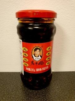 Lao Gan Ma Sichuan Salta Svarta Bönor Med Chili