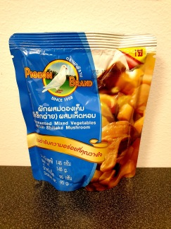 Pigeon Brand Picklade Grönsaker med Shiitakesvamp