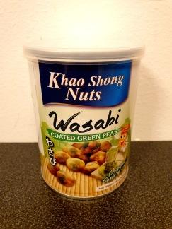 Khao Song Nuts Gröna Ärtor Wasabi Smak