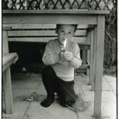 Fotokonstnär, Fotograf: Ava Valsten, Pojken med elden