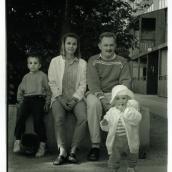 Fotokonstnär, Fotograf: Ava Valsten, Familjen